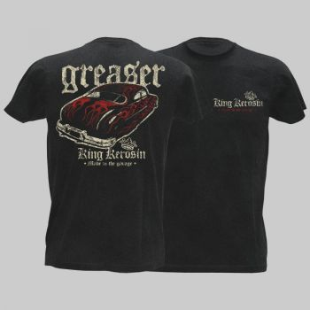 King Kerosin Vintage T-Shirt - Greaser / Limited Edtion