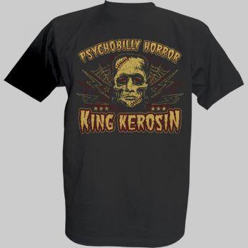 """King Kerosin T-Shirt - Psychobilly Horror"""""""