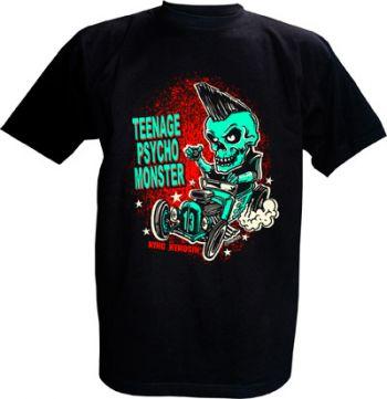 "King Kerosin T-Shirt - Psycho Monster"""