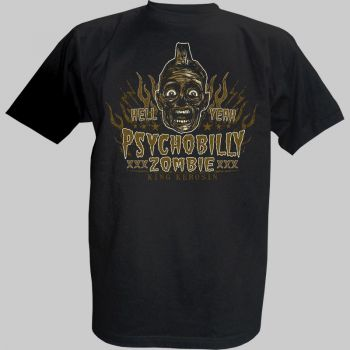 King Kerosin T-Shirt - Psycobilly 4
