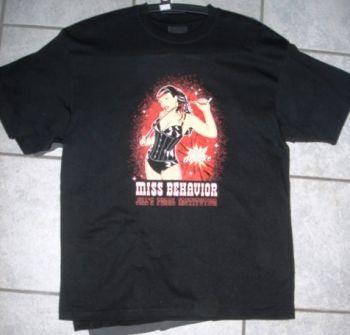 Porn Deluxe T-Shirt - Miss Behavior