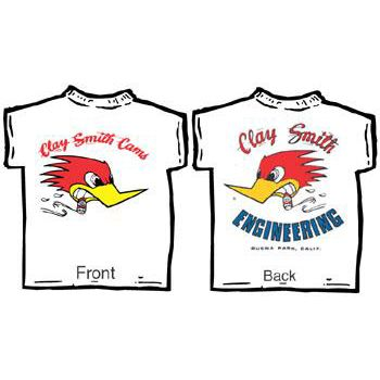 CLAY SMITH CAMS T-Shirt T- Cst03wh