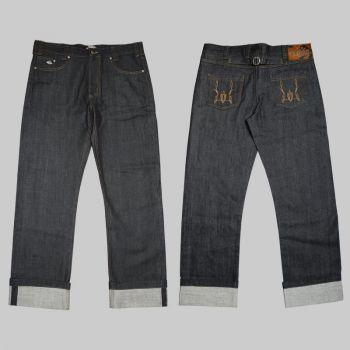 Jeans von King Kerosin - Red Selvedge Adp