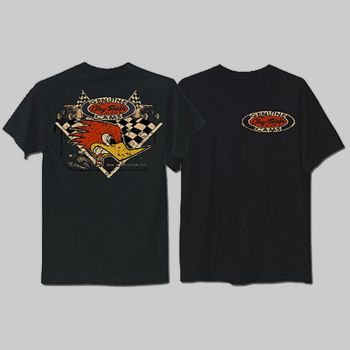 CLAY SMITH CAMS T-Shirt  T-cst098bk
