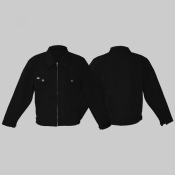 King Kerosin Workerjacket wj1- schwarz blanko
