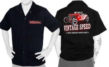 King Kerosin Workershirt - Vintage Speed