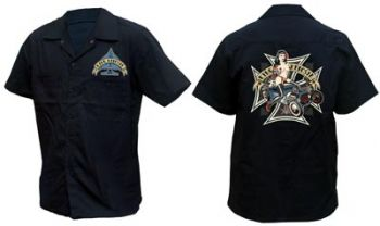 King Kerosin Workershirt  ws_mro