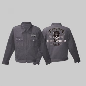 King Kerosin *Limited Edition* Workerjacket grau - mhr / Limited Edition