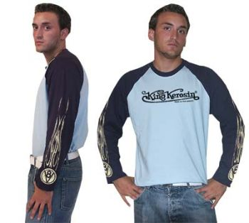King Kerosin Raglan Longshirt - King Kerosin