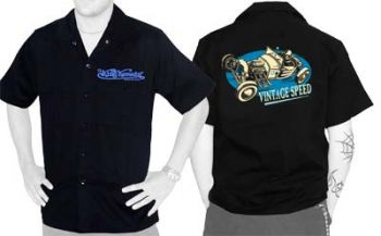King Kerosin Workershirt - Vintage Speed 1