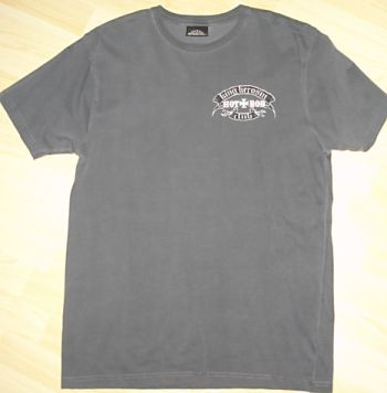 King Kerosin Vintage T-Shirt grau - mhr / Limited Edtion