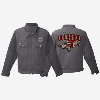 King Kerosin Workerjacket grau - Volksrod / VW Rod