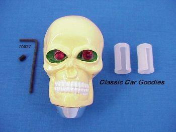 Shiftknobs - Natural Skull