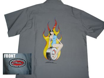 Zombie Kustom Shirt  Zs -W.TireGirl
