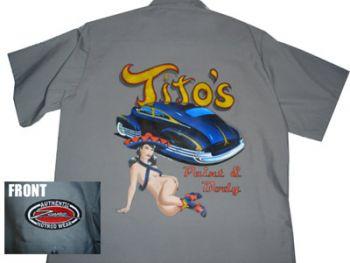 Zombie Kustom Shirt  Zs - Titos