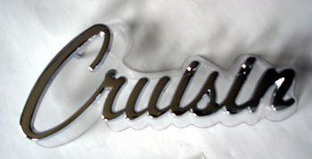 Chrome Schrift - Cruisin