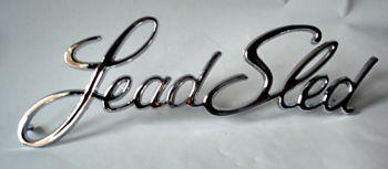 Chrome Schrift -LeadSled