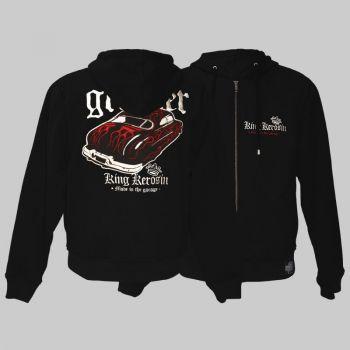 King Kerosin *Limited Edition* Hoodie Jackets shj-mgr / Greaser