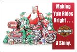 X-Mas Cards Motorcycle  X - 811