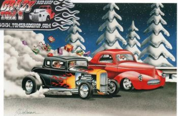 X-Mas Cards Rods  X - 294