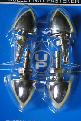 Chrome Bullet Nut