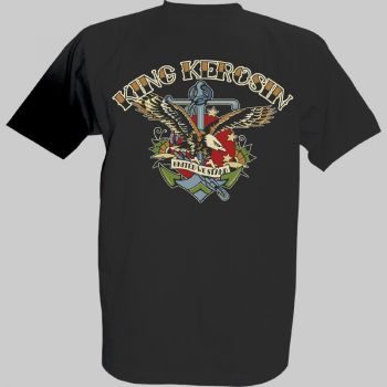 King Kerosin T-Shirt - Eagle & Ancor