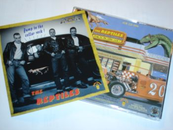 CD -The Reptiles/ Jump to the Cellar Rock