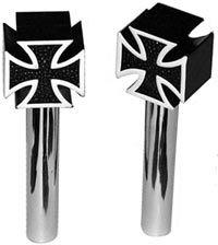 Door Locks -Malteser Cross black