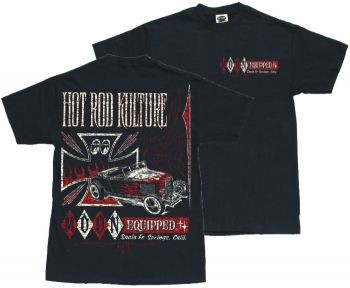 MOON EYES T-Shirt MQT066bk