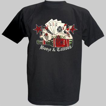 King Kerosin T-Shirt - Boose&Tattoo 1