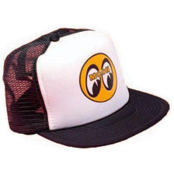 MOON Truckercap / Moon bw-yellow eyeball logo