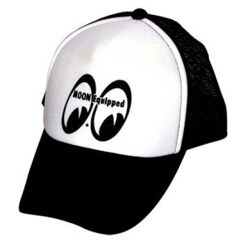 Moon Truckercap / moonequipped black/white