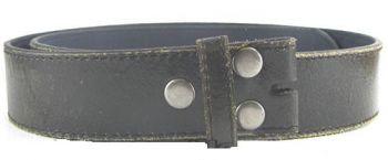Ledergürtel bt- Oldstyle black 57-B