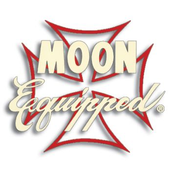 Race Sticker  St - MOON Equipped Iron Cross /Ivory with Red