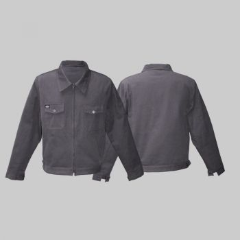 King Kerosin Workerjacket  wj2 - blanko Grau