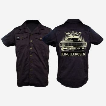 KING KEROSIN Limited Edition RETRO Shirt - V8