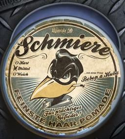 Pomade Rumble 59 - Schmiere / medium