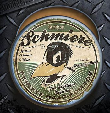 Pomade Rumble 59 - Schmiere / heavy weight
