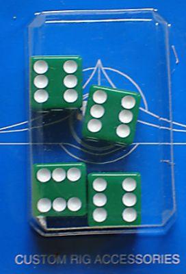 Ventilkappen - Würfel grün