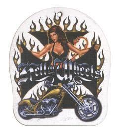 Lufterfrischer - Biker Girl