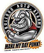 Bulldog Alarms / Sticker St-AD 614