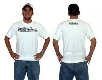 King Kerosin T-Shirt Tr - KKS / weiss