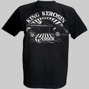 King Kerosin T-Shirt - Willys Gasser
