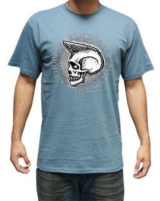 King Kerosin T-Shirt blue - Psyco Billy