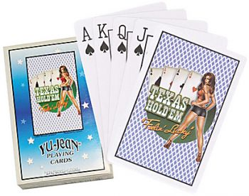 Playing Cards - Pinup Texas Hold`em / pc103