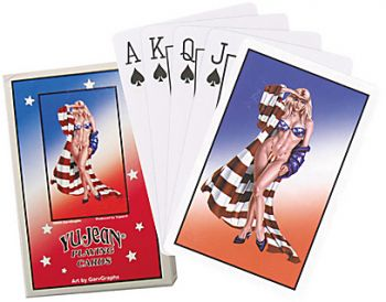 Playing Cards - Miss USA Pinup  / Pc102