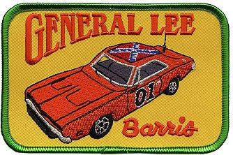 Patch - Barris General Lee