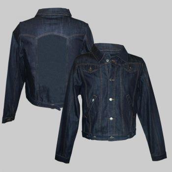Jeans Jacke - Blanko