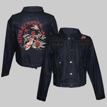 Frauen Jeans Jacke - Koi