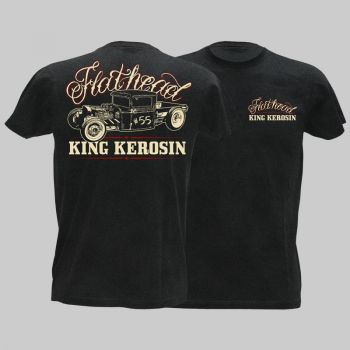 King Kerosin Vintage T-Shirt  - Flathead / Limited Edtion